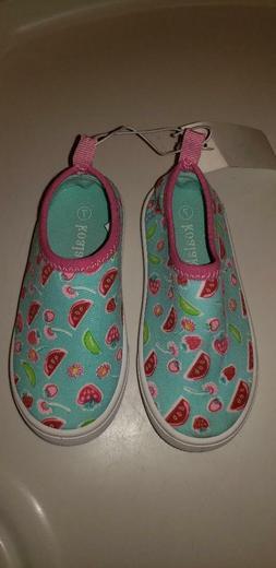 Koala Kids Girls Toddler Water Aqua Shoes Size 7 Slip On NWT