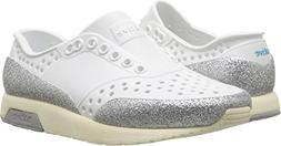 Native Kids Glitter Lennox Water Proof Shoes, Shell White/Bo