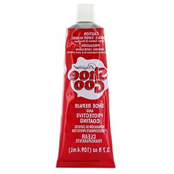 Shoe Goo Repair Adhesive for Fixing Worn Shoes or Boots, Cle