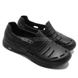 Skechers H2 Go Black Men Walking Casual Water Slip On Shoes