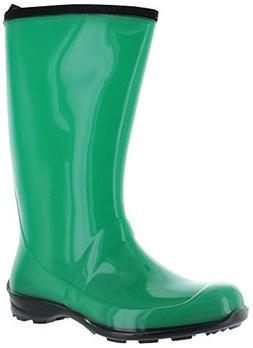 Kamik Women's Heidi Rain Boot,Dark Mint Green,9 M US