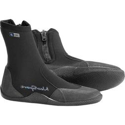NeoSport Wetsuits Unisex 5mm Hi-Top Zip Boot Black Size 11 M