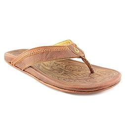 Mens Olukai Hiapo Sandals Teak/Teak 12