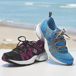 RYKA Women's Hydro Sport Water Shoe Cross-Training Shoe, Bla
