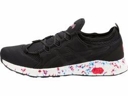 Asics Hyper Gel-Sai Black White Men Running Shoes Sneaker 10
