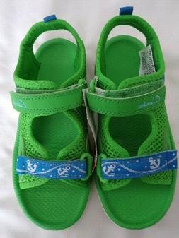 Clarks Infant Boys Piranhaboy water shoes, 11M, NWT, green/b