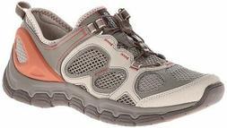 Clarks Women's Inframe Ease Water Shoe,Stone,8 M US