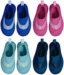 iPlay Toddler Girls Boys Kids Water Swim Shoes Aqua Socks Po