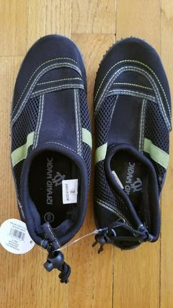 Island Magic Adult Reef Walkers, Size 6 Black Perfect for Su