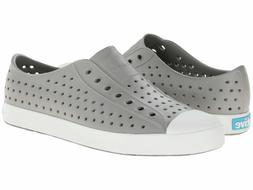 Native Shoes Jefferson Slip On Sneaker Water Shoes Grey Whit