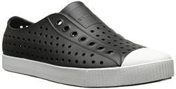 Native Unisex Jefferson Fashion Sneaker,  Jiffy Black/Shell