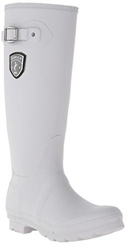 Kamik Women's Jennifer Rain Boot, Light Grey, 8 M US