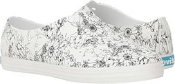 Native Jericho Print Water Shoe, Shell White/Black Jardin, W