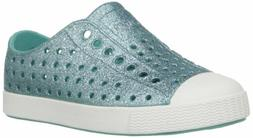 Native Kids Shoes Baby Girl's Jefferson Bling, Pool Bling/Sh