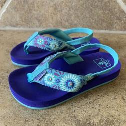 Reef Kids Toddler Girl Light Up Flip Flop Sandals Water Shoe