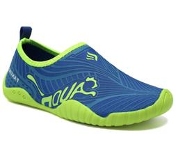 CIOR Kids Water Shoes Quick Dry Boys and Girls Slip-On Aqua