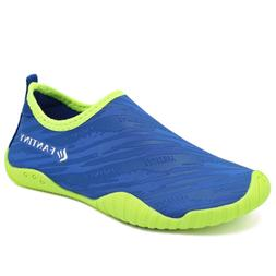 CIOR Kids Water Shoes Quick-Dry Boys and Girls Slip-On Aqua