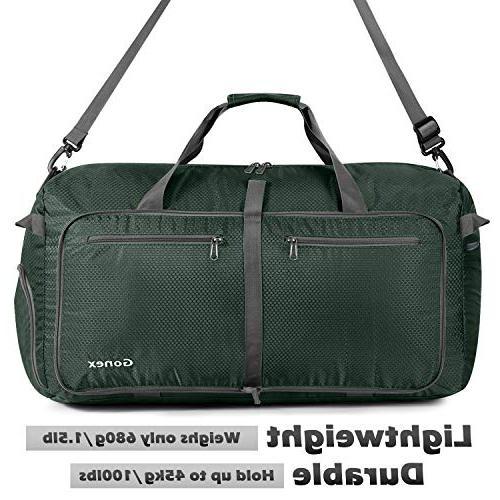Gonex 100L Travel Duffel Gym Bag Capacity, Water Repellent