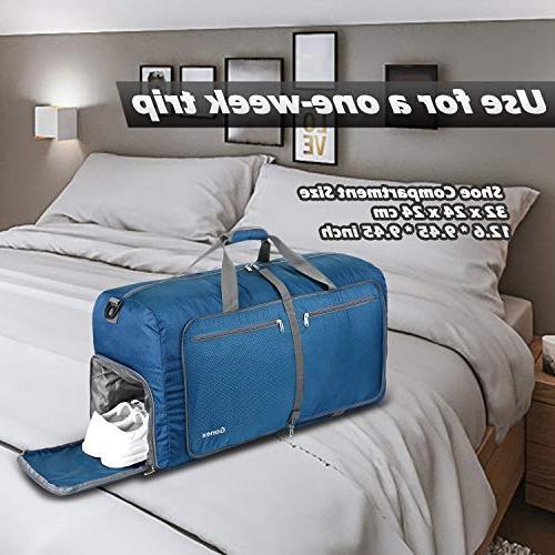 Gonex 100L Duffel Bag Gym Lightweight Travel Bag Water Repellent