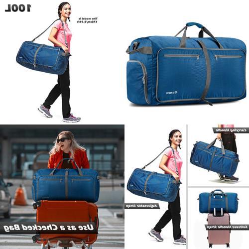 Gonex 100L Foldable Travel Duffel Bag for Luggage Gym Sports