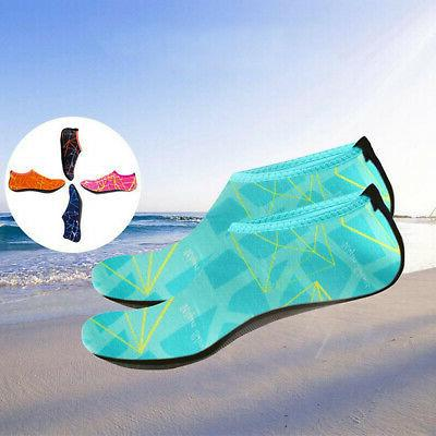 Adult Kid Water Shoes Barefoot Skin Aqua Sports