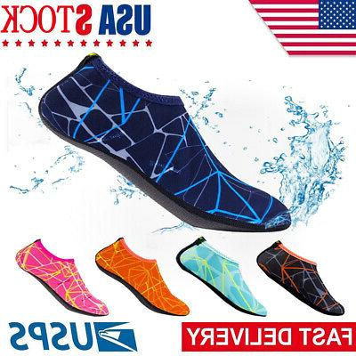 adult kid water shoes barefoot skin socks