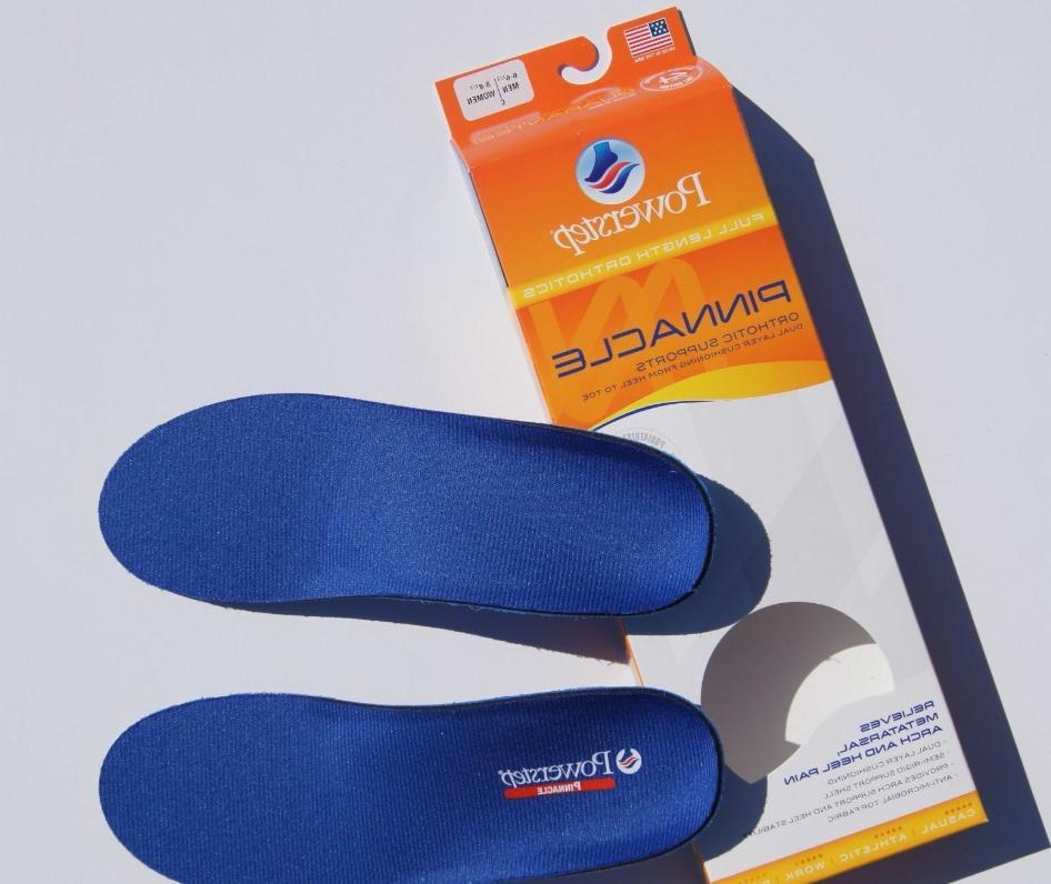 adult pinnacle shoe inserts blue men s