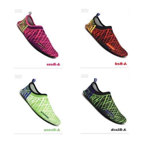 SAGUARO Adults & Aqua Shoes Yoga Skin Shoes Size