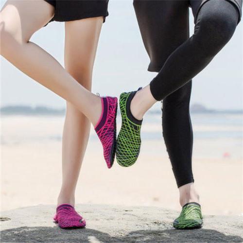 SAGUARO & Aqua Socks Yoga Swim Beach Skin Shoes Size