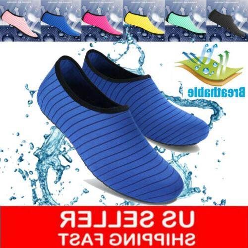 adults kids water shoes aqua summer yoga