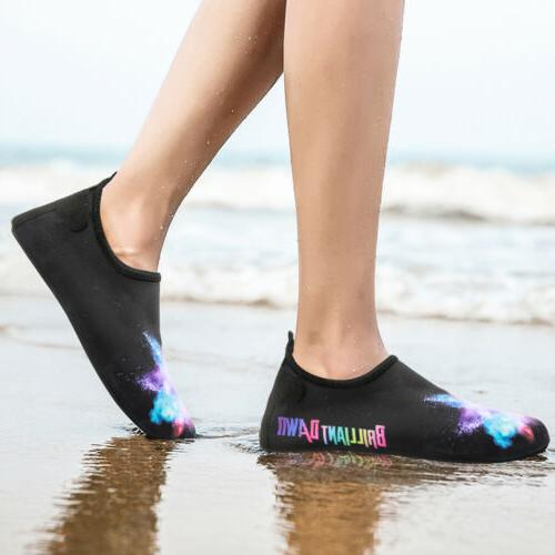 Bridawn Adults Water Shoes Surf Skin Socks