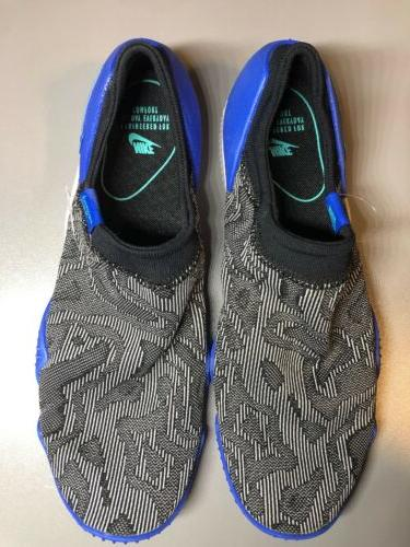 aqua sock 360 black hyper jade blue