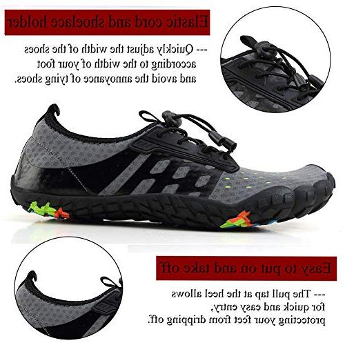 LINGTOM Womens Water Beach Running Hiking Shoes Quick Dry Sports Exercise for Walking US / 13