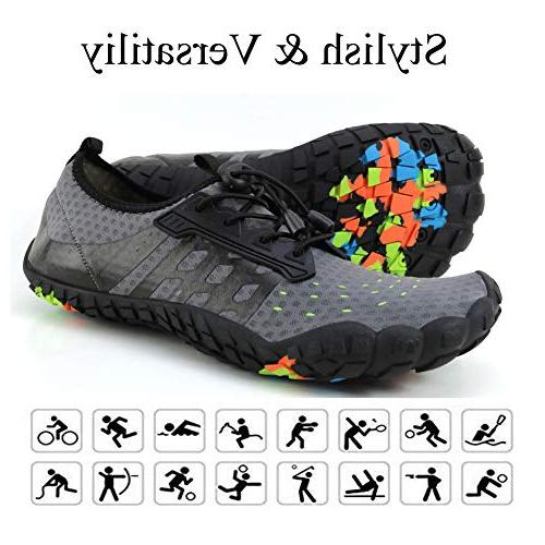 LINGTOM Mens Water Shoes Running Hiking Shoes Dry Sports for Walking Surf M US Women 13 M US Men