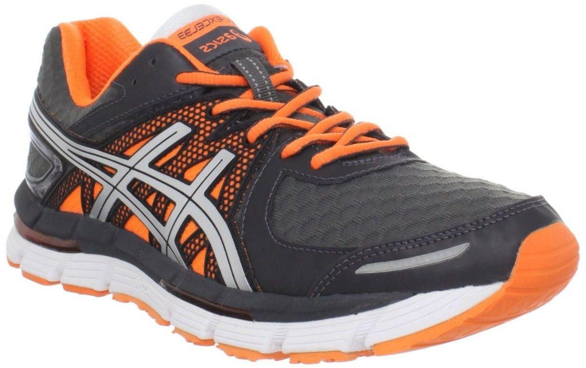 asics gel excel neon orange men s