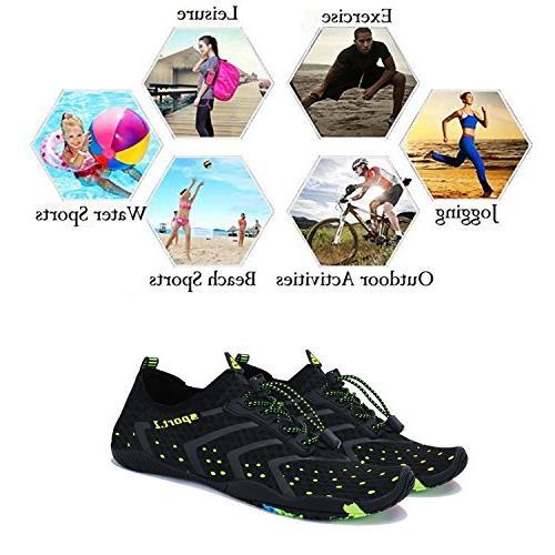 WXDZ Athletic Sock Water for Sport Pool Surfing 1-black, US Women/11 44 EU