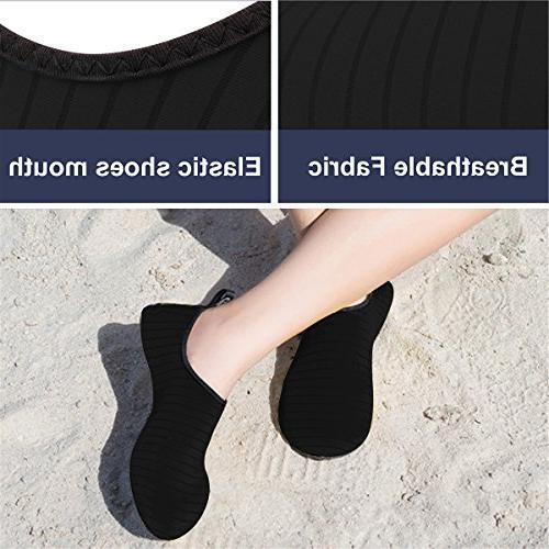 JIASUQI Mens Athletic Walking Sandals Skin Shoes Women,