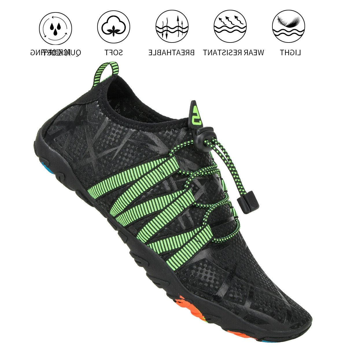 Athletic Hiking Mens Barefoot Aqua Swim Walking Shoes