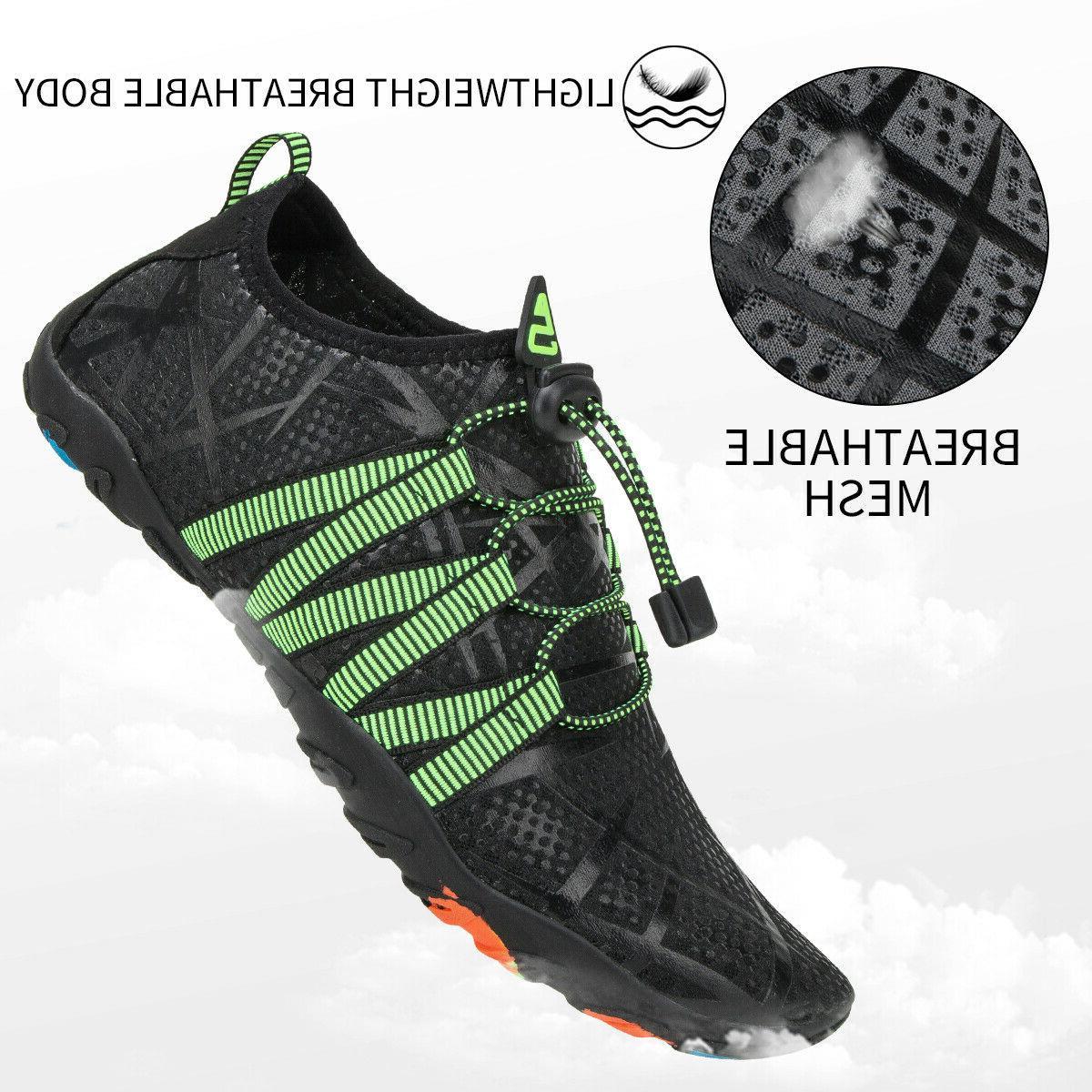 Athletic Hiking Mens Swim Walking Shoes