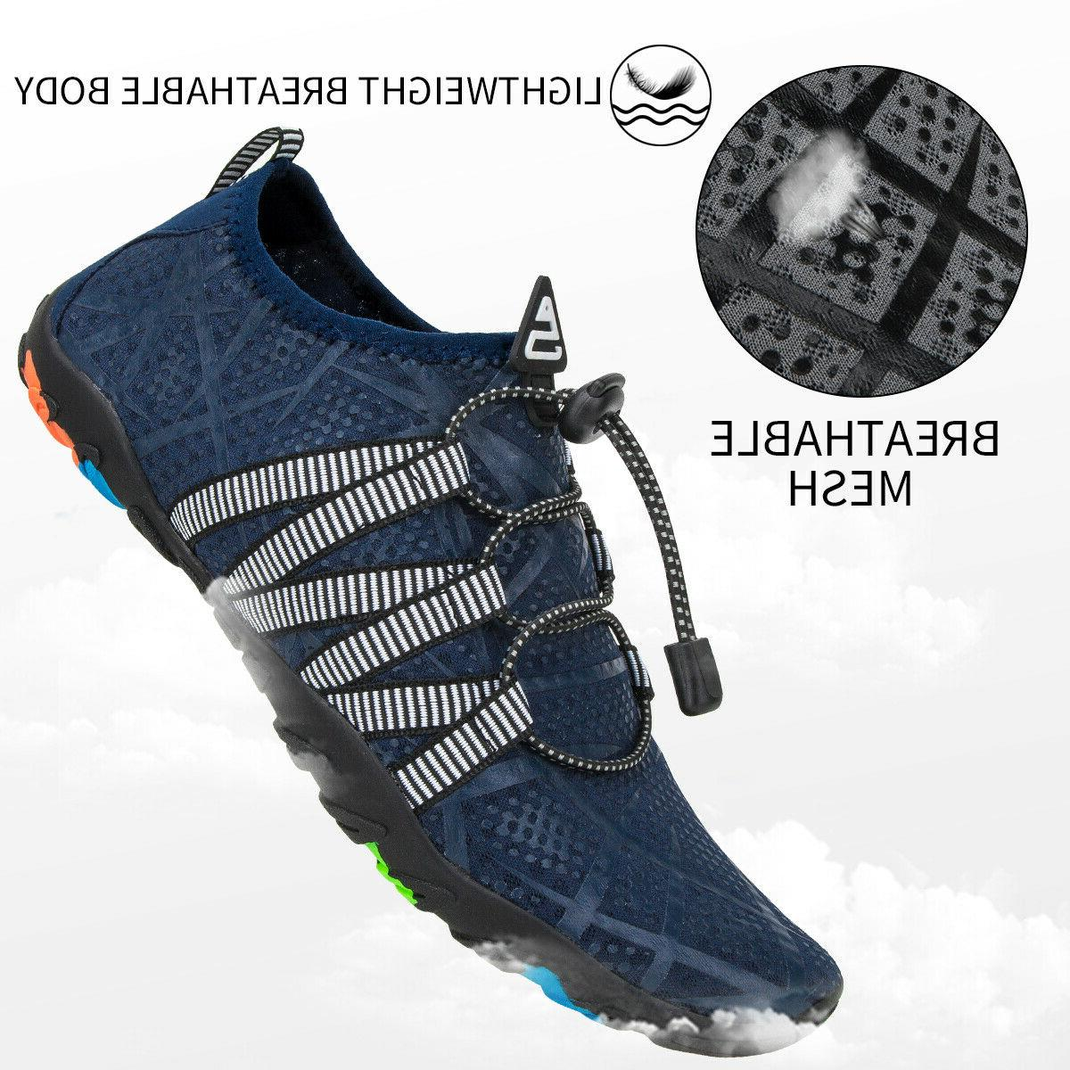 Athletic Mens Aqua Swim Walking Shoes