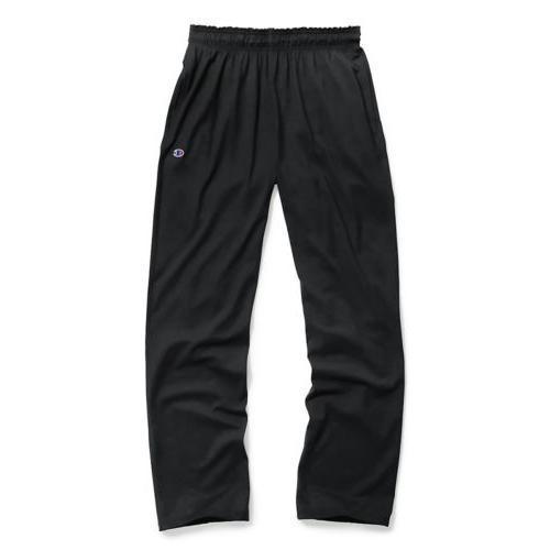 authentic men s open bottom jersey pants