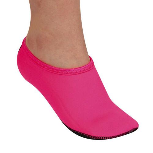 Barefoot Water Shoes Aqua Socks Swim Surf Yoga Quick-Dry