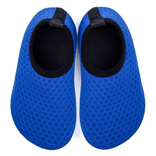 L-RUN Boys Pool Yoga Shoes Baby's Navy 12-18 Month=EU19-20