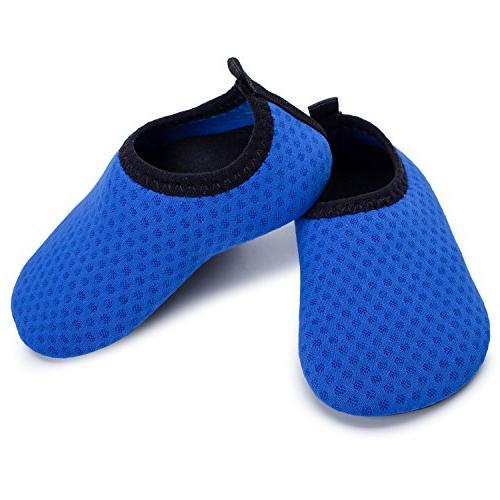 L-RUN Girls Beach Pool Yoga Shoes Baby's Water 12-18 Month=EU19-20
