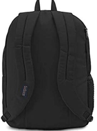 JanSport Black Grey Big Digital Backpack Laptop