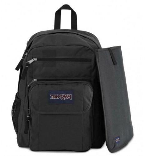 JanSport & Grey Big Student Backpack Laptop Pack