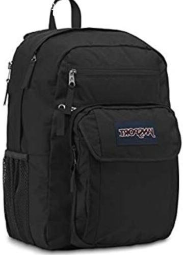 JanSport Grey Big Digital Backpack
