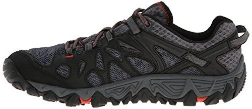 Merrell Men's Out Blaze Water Black/Red, 10.5 M US