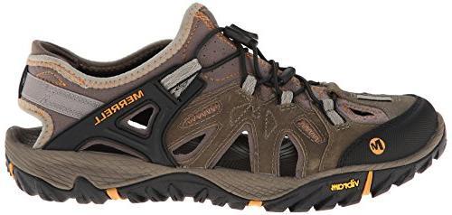 Merrell All Blaze Shoe, Brindle/Butterscotch,
