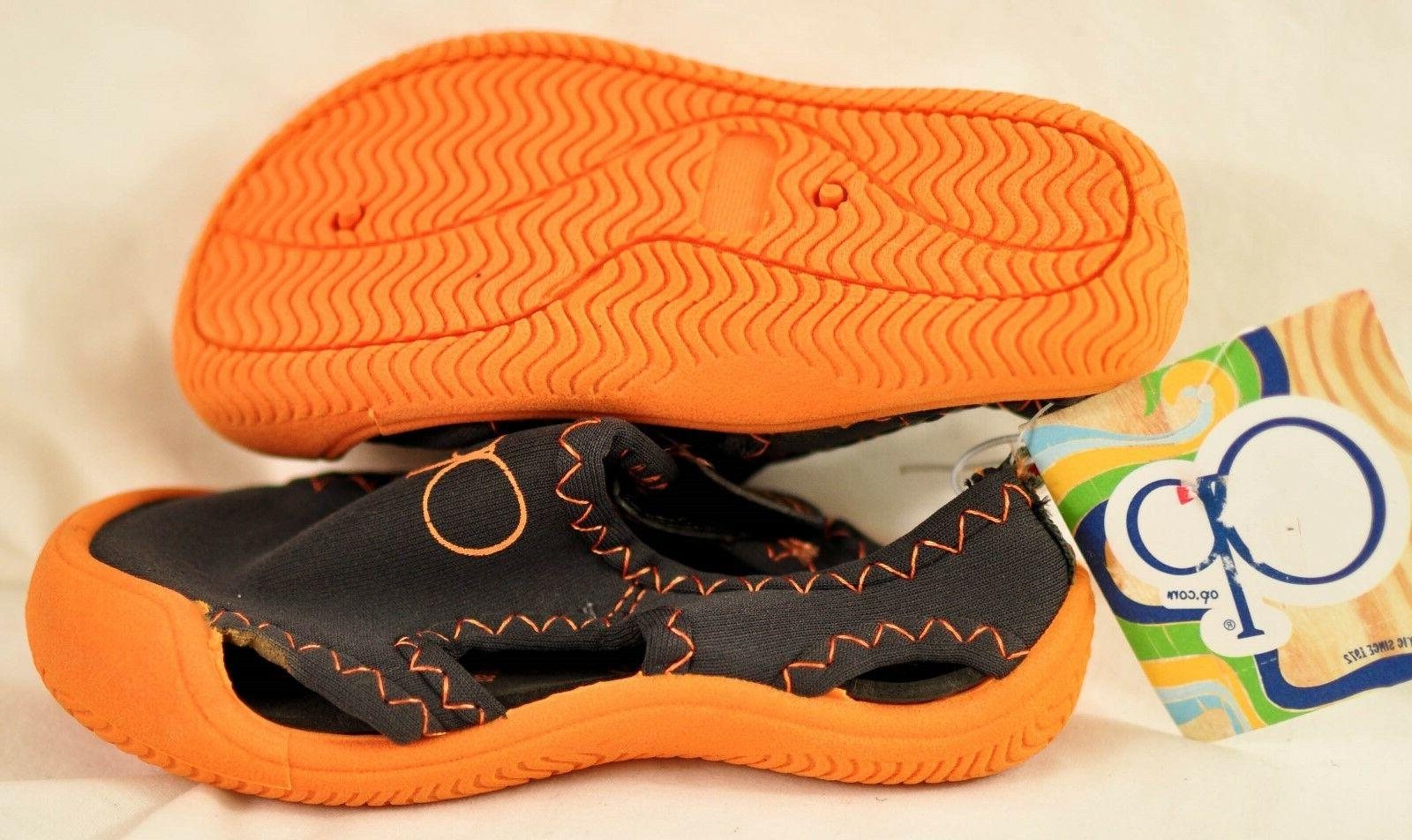 Boy's Op size small orange strap padded